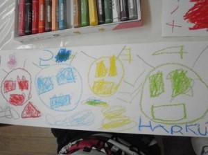 ゴーバスターズが描けました。