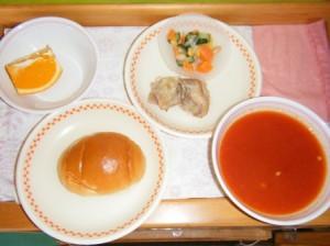 昼食のメニュー