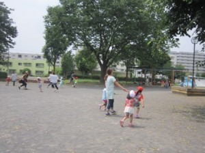 かまきり公園に行きました