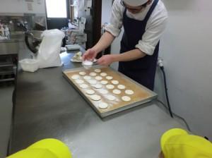 クッキー作りです。