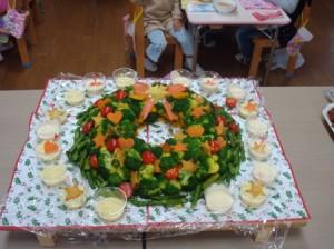 リースのサラダ☆