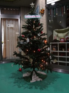 クリスマスツリー 夜ver