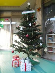 クリスマスツリー 昼ver